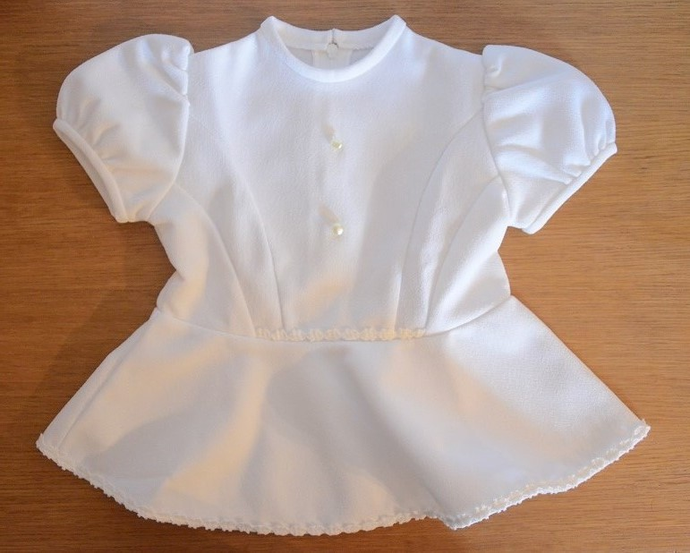 Robe Blanche Mes Annees Vintage
